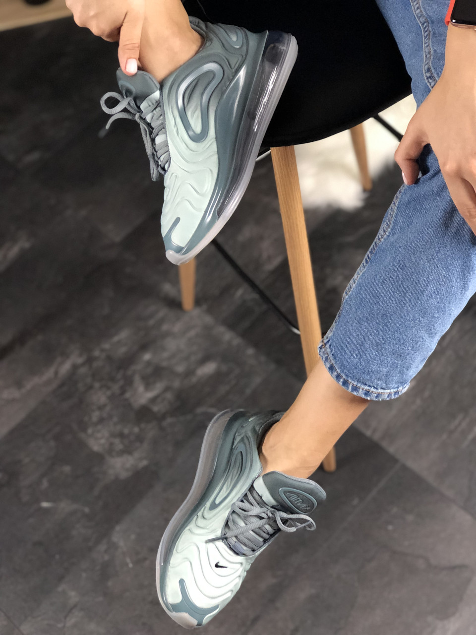 Кроссовки Nike Air Max 720 Light Grey 3