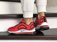 Женские кроссовки красные Air Max 720 8939