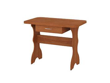 Кухонний Стіл Простий (з шухлядою) Горіх Лісовий, фото 2