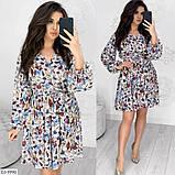 Стильное платье   (размеры 50-56) 0231-27, фото 2