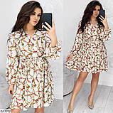 Стильное платье   (размеры 50-56) 0231-27, фото 3