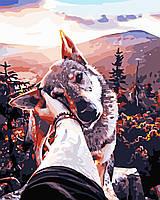 Художественный творческий набор, картина по номерам Верный друг 40x50 см, «Art Story» (AS0548), фото 1