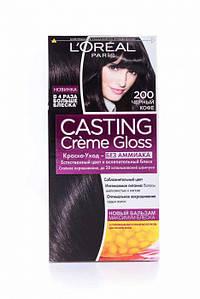 Краска для волос CASTING тон 200 ЧЕРНЫЙ КОФЕ