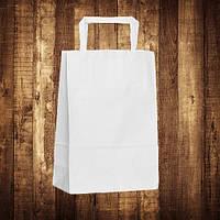 Крафт-пакет для каравая и сладостей 18x08x25 см белый (арт. ARCW-180825)