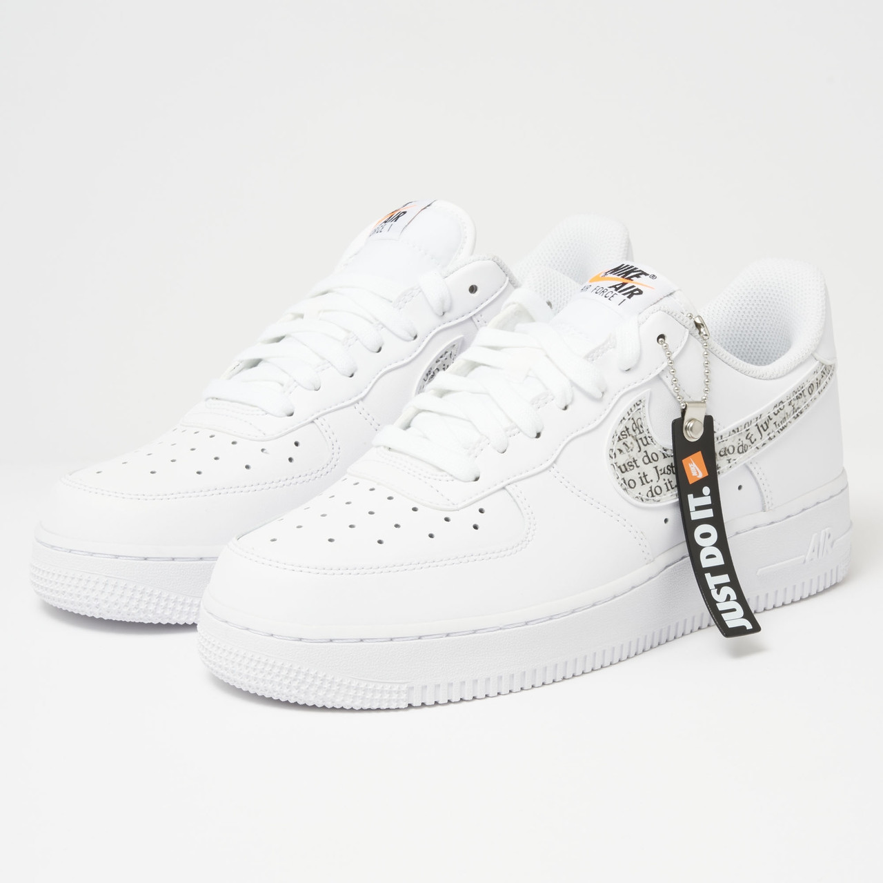 Кроссовки Nike Air Force 1 Just Do It full White