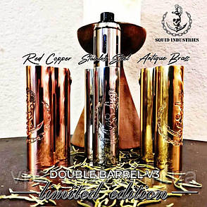 Double Barrel V3 MOD (CNC Milled Limited Edition) by Squid Industries, фото 2