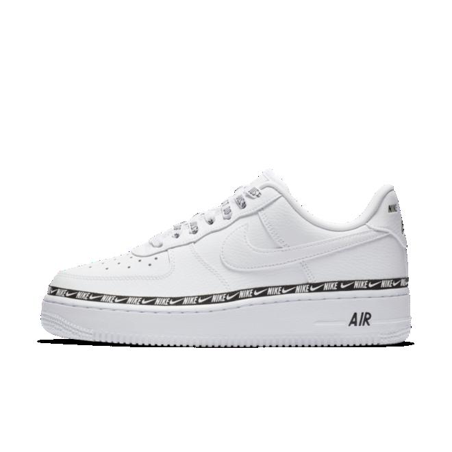 Кроссовки Nike Air Force 1 '07 Low SE Premium White Black 2