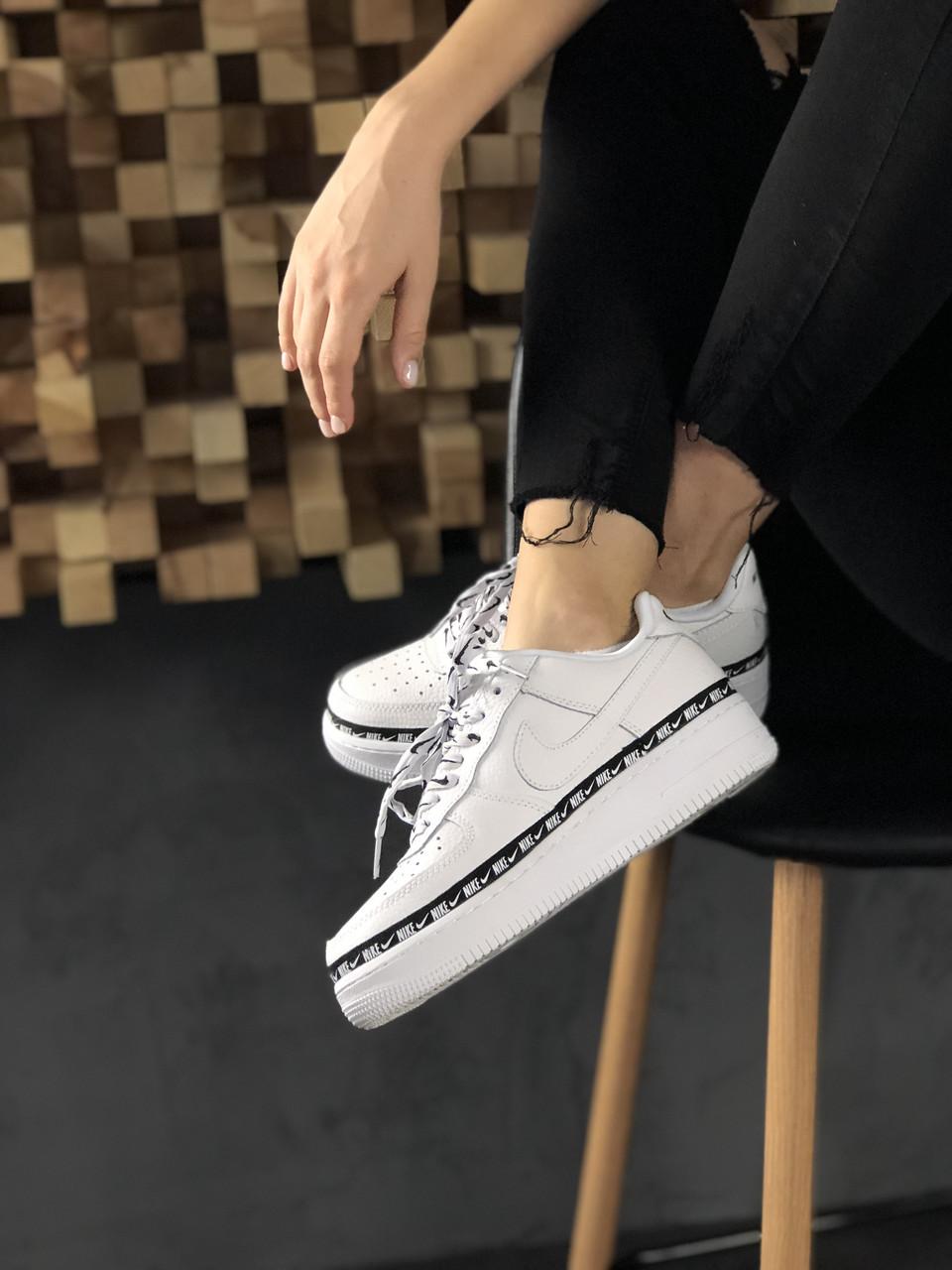 Кроссовки Nike Air Force 1 '07 Low SE Premium White Black 6