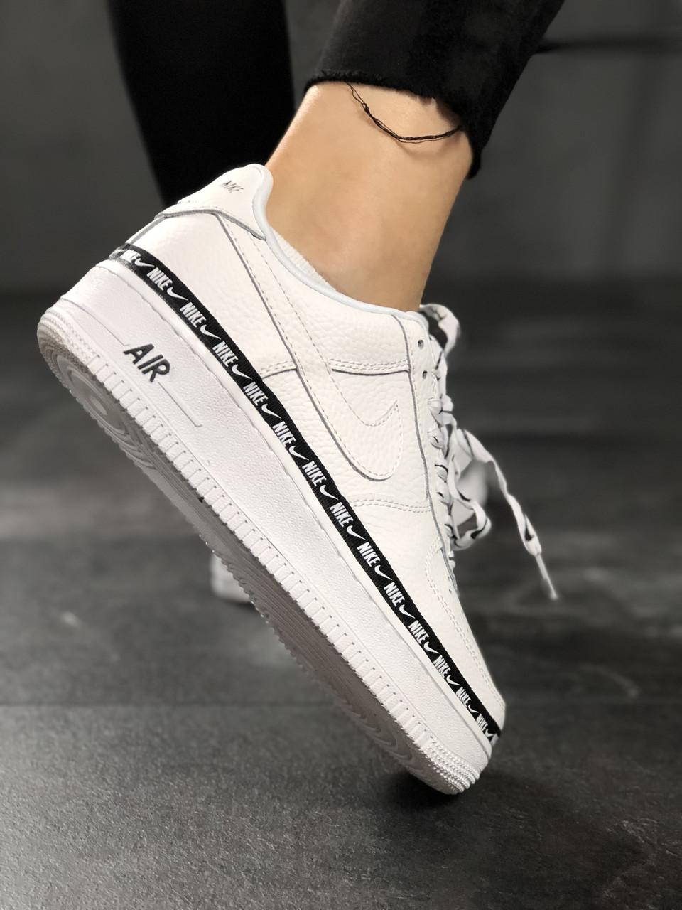 Кроссовки Nike Air Force 1 '07 Low SE Premium White Black 5