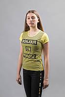 Женские футболки с принтом разные цвета, фото 1
