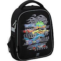 Рюкзак шкільний каркасний ортопедичний Kite Education Hot Wheels HW20-555S