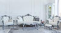 """Комплект мягкой мебели в стиле Барокко """"Изабелла"""", от фабрики мебели """"Курьер"""". Классическая мягкая мебель"""