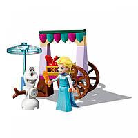 Конструктор LEGO DISNEY PRINCESS Приключение Эльзы на базаре