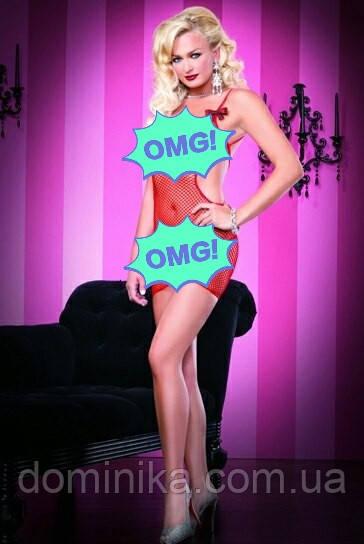 Женское эротическое сексуальное белье, мелкая сетка,  размер S/M