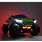 Детский двухместный электромобиль 4WD M 4064EBLR-4 синий, фото 2