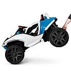 Детский двухместный электромобиль 4WD M 4064EBLR-4 синий, фото 4