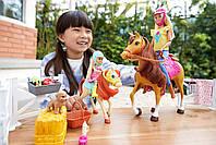 Barbie Верховая езда на лошадках и объятия (Барби и Челси) FXH15, фото 4