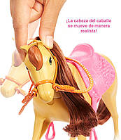Barbie Верховая езда на лошадках и объятия (Барби и Челси) FXH15, фото 8