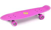Детский скейт пенни Baby Tilly SC17027 розовый