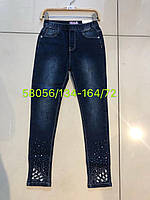 Модные джинсы для девочек 134/164 см