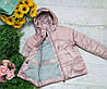 Куртка для девочки осень  весна код CZ2066  размеры на рост от 140 до 164 возраст от 6 лет и старше