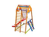 Детский спортивный комплекс для дома BambinoWood Plus-2