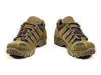 Кросівки тактичні літні замшеві МБС підошва 9с олива, фото 1