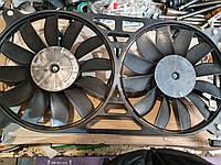 Мотор вентилятора радиатора Нива Шевроле ВАЗ 2123 в сборе с диффузором, Вентол