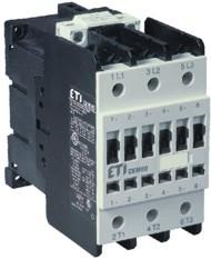 Контактор силовой ETI CEM 80.11 80А 230V AC 3NO+1NO+1NC 37kW 4650133 (на DIN-рейку, 110A AC1, 80A AC3)