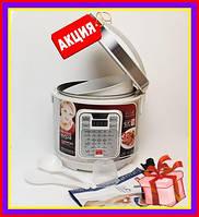 Мультиварка OPERA OD266 6 литров 32 программы, 120 рецептов 1500 Вт керамическая чаша. Скороварка + подарок