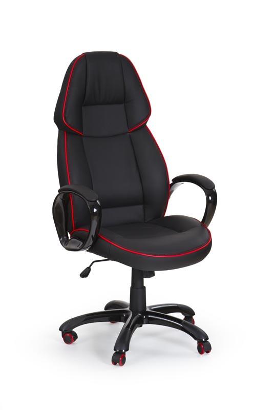 Крісло комп'ютерне RUBIN чорний (Halmar)