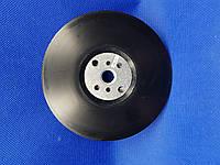 BOSCH - Оправка для фибровых кругов, гладкая 125 мм, М14, черная
