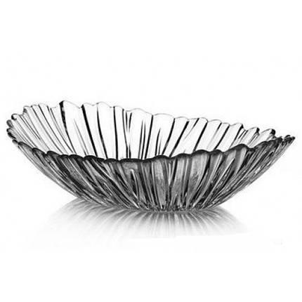 """Блюдо глубокое стеклянное овальное Pasabahce """"Аврора"""" 36х26.4 см (10611), фото 2"""