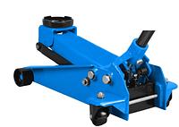 Домкрат подкатной 2,5т (75-515mm) двухплунжерный