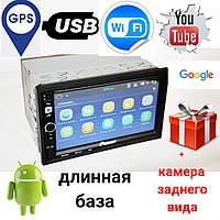 Автомагнитола Pioneer 2din 8702 Android GPS, WiFi,  4Ядра, 1Gb RAM, 16Gb ROM