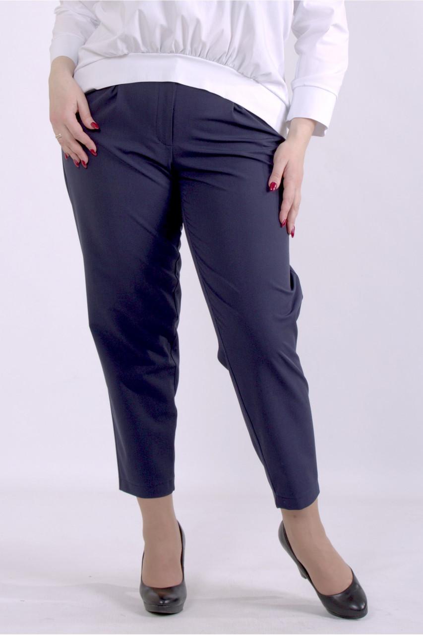 B069-1   Сині штани жіночі великого розміру