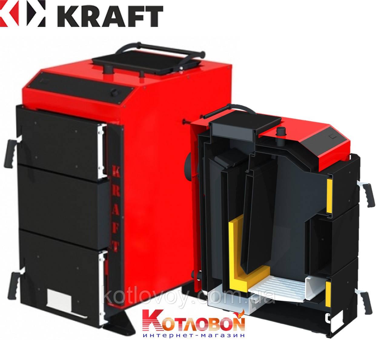Твердопаливний котел шахтного типу KRAFT (Крафт) D