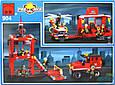 Конструктор Пожарная машина спасателей Brick 904, фото 3