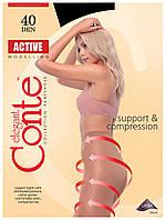 Колготки Conte Active 40 Den Черный (Nero) размер 2