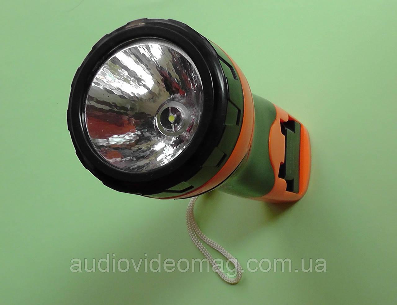 Фонарик ручной светодиодный 209 аккумуляторный