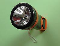 Фонарик ручной светодиодный 209 аккумуляторный, фото 1