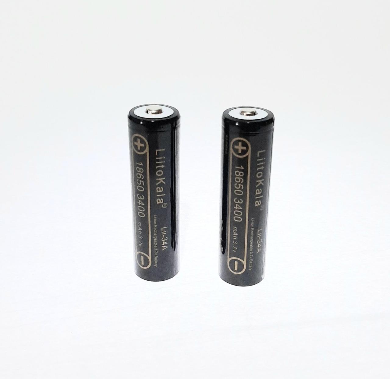 Аккумулятор 18650 Liitokala Lii-34A 3400 mAh