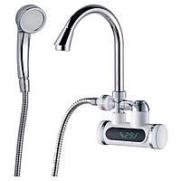 Кран водонагреватель проточный для ванны AQUATICA 3 кВт (JZ-7C141W)