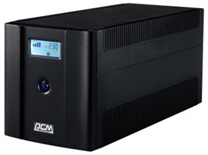 ИБП Powercom RPT-2000AP, 4 x евро, USB, LCD (00210226)