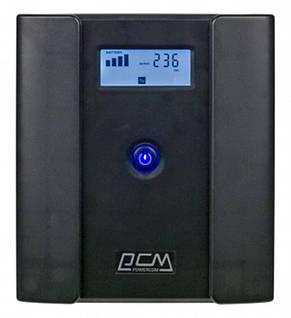 ИБП Powercom RPT-2000AP, 4 x евро, USB, LCD (00210226), фото 2
