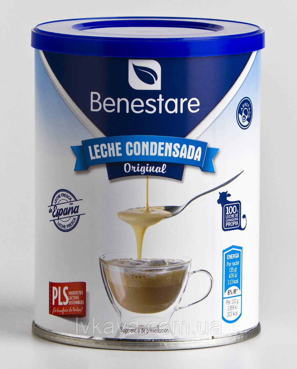 Молоко сгущенное Benestare Leche Condensada Original , 1  кг