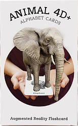 Обучающие карты Animal 4D+ с дополненной реальностью Животные 4D+
