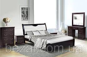 Кровать деревянная двуспальная Ирина
