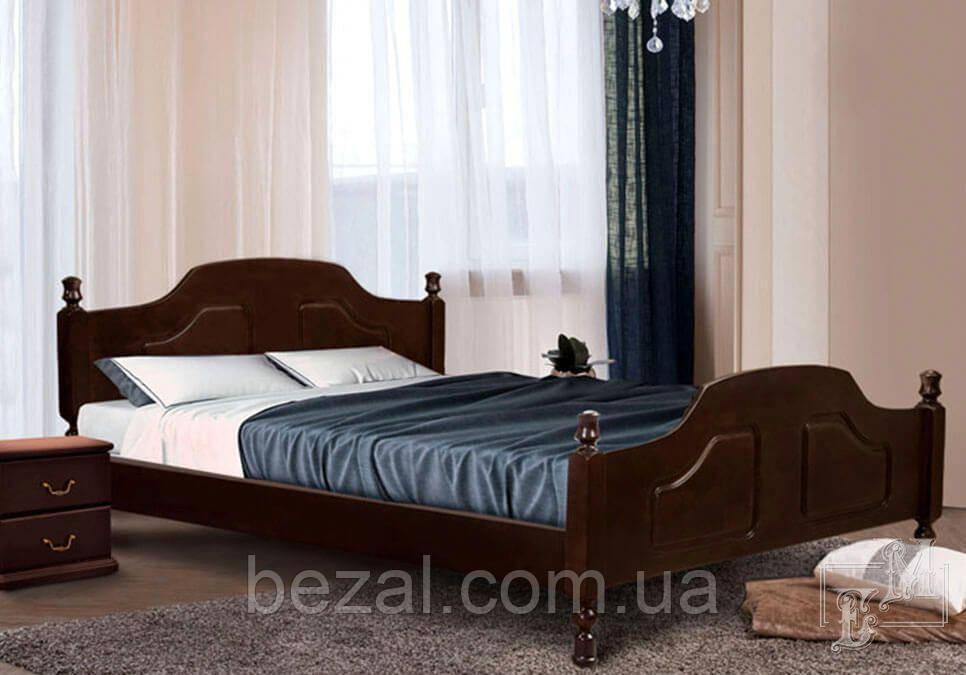 Ліжко дерев'яне двоспальне Ольга