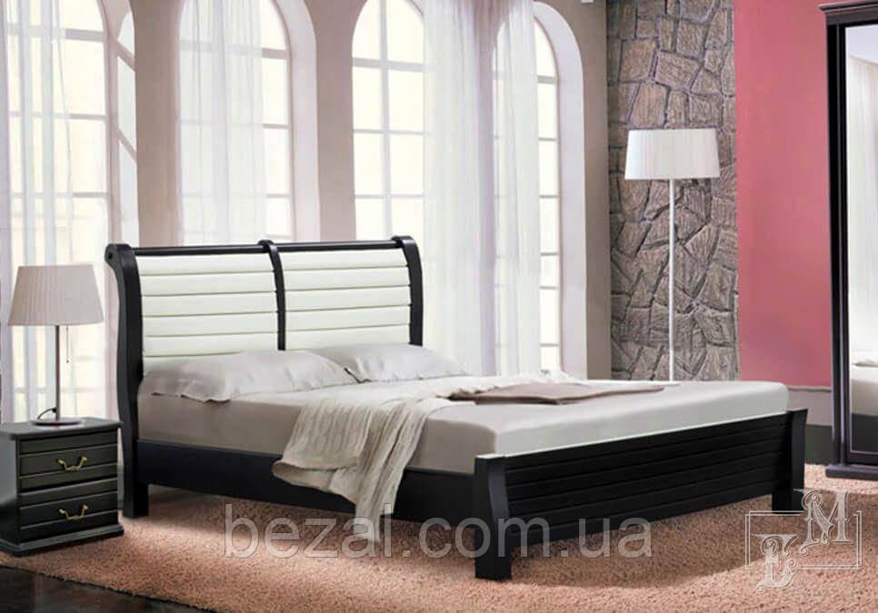 Ліжко дерев'яне двоспальне Адель - М